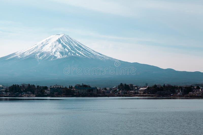 Berg Fuji in Japan stock foto