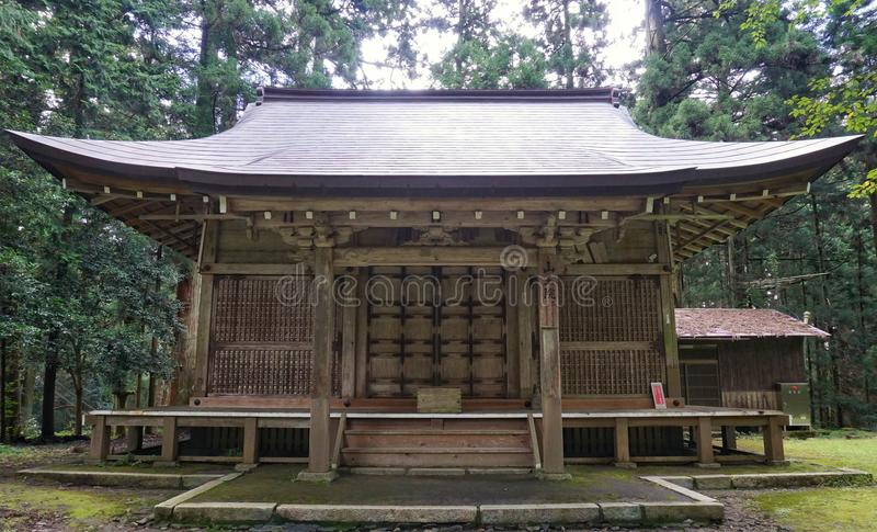 Berg Hiei-Tempel lizenzfreie stockfotografie