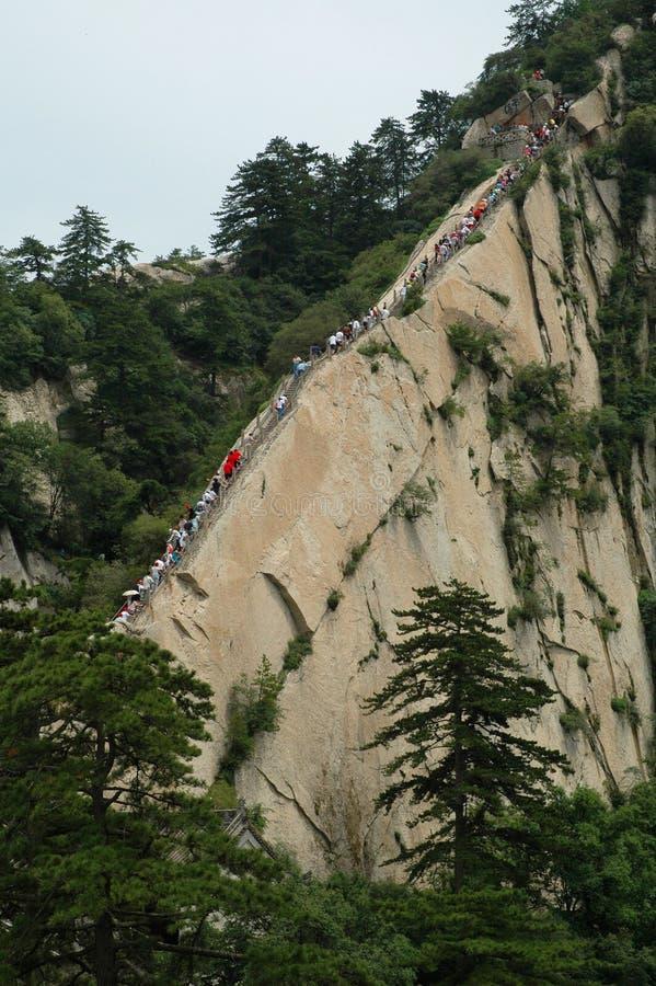 Berg Hua stock afbeelding