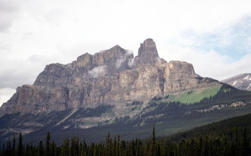 Berg i Jasper royaltyfri bild