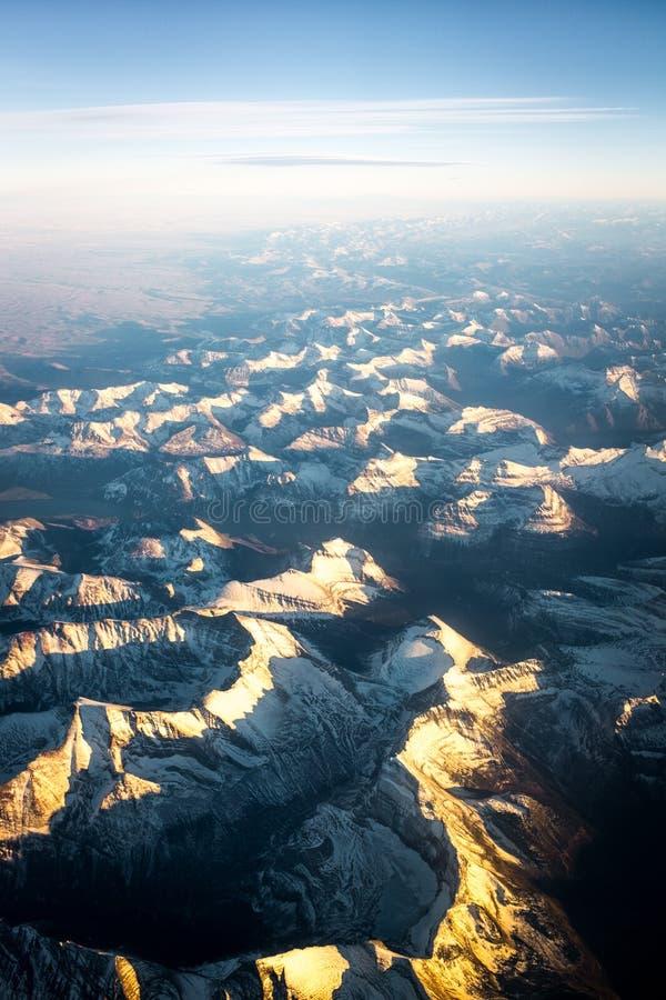 Berg i Utah arkivfoto