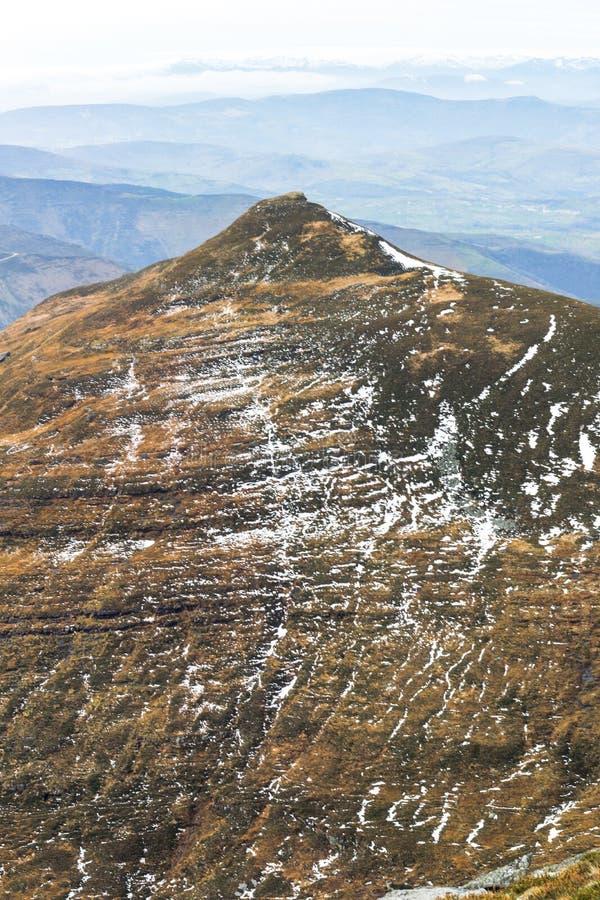Berg im Herbst stockbilder