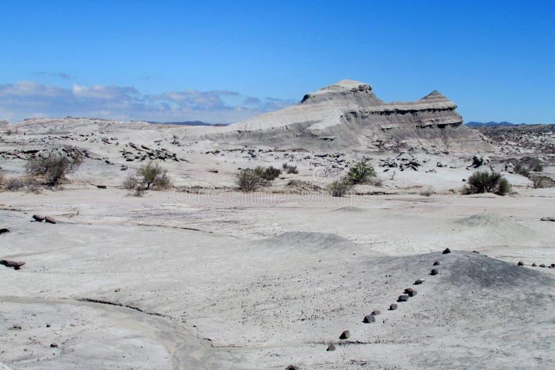Berg in Ischigualasto, Valle-De-La Luna lizenzfreie stockfotos