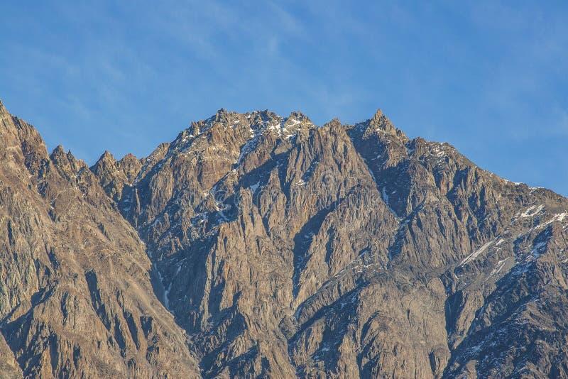 Berg in Kazbegi royalty-vrije stock afbeelding