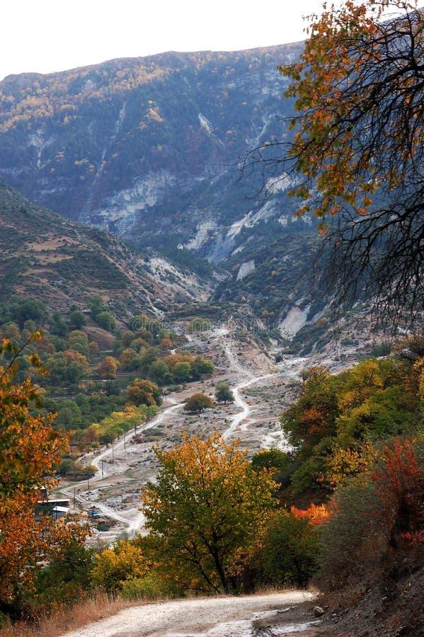 Berg in Kolo in Dagestan (16) royalty-vrije stock fotografie