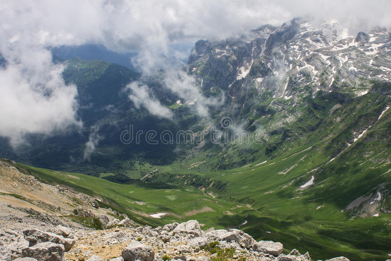 Berg Komovi, Montenegro lizenzfreies stockbild