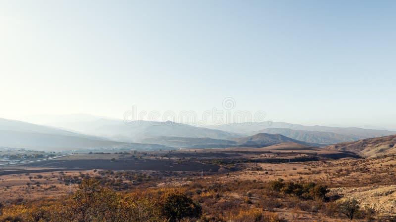 Berg landelijk landschap royalty-vrije stock afbeelding