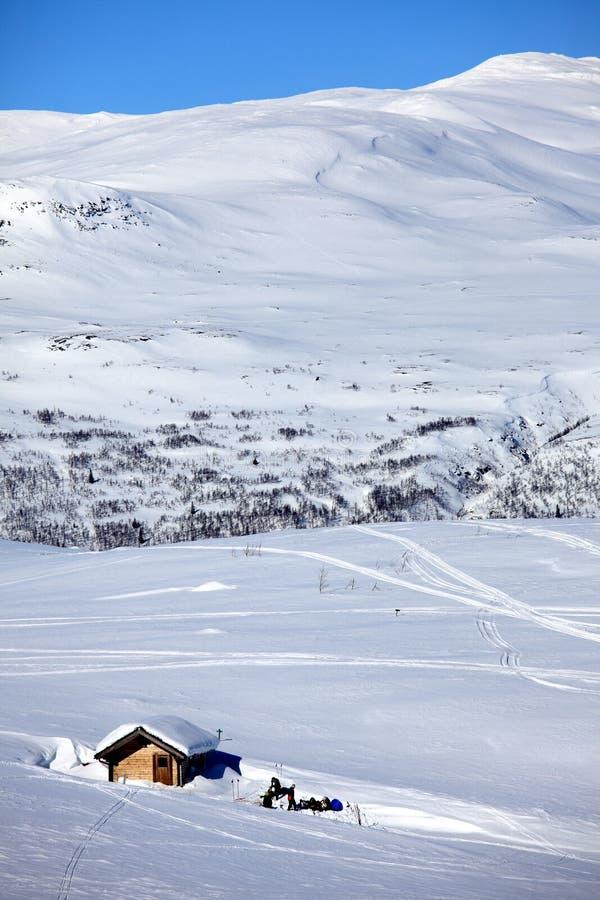 Berg landskap fotografering för bildbyråer