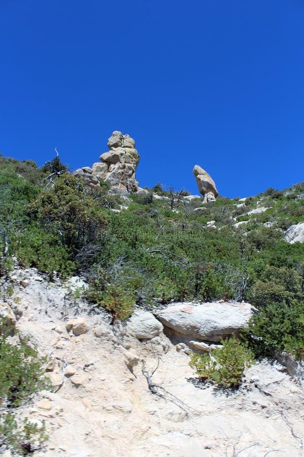 Berg Lemmon, Tucson, Arizona, Vereinigte Staaten lizenzfreies stockbild