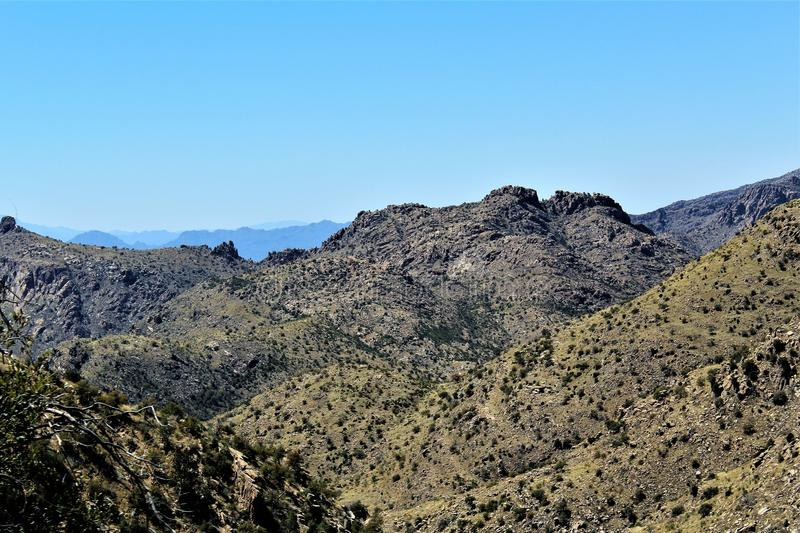 Berg Lemmon, Tucson, Arizona, Vereinigte Staaten lizenzfreie stockfotografie