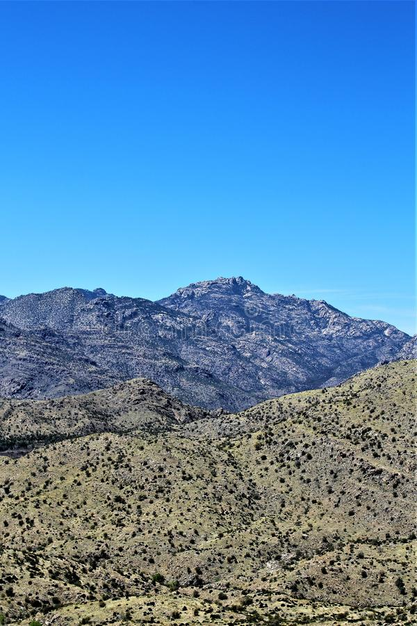 Berg Lemmon, Tucson, Arizona, Vereinigte Staaten lizenzfreie stockbilder
