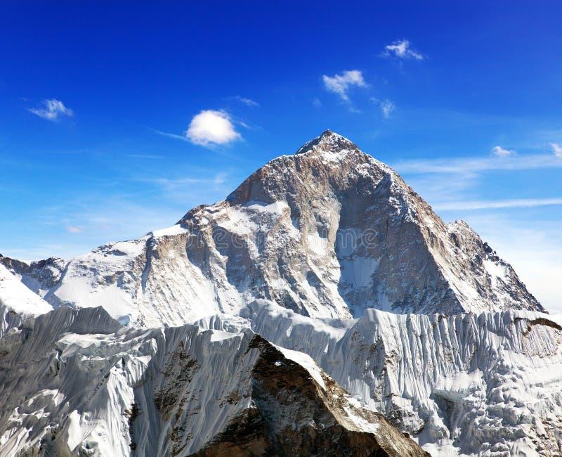 Berg Makalu 8463 m stockbilder