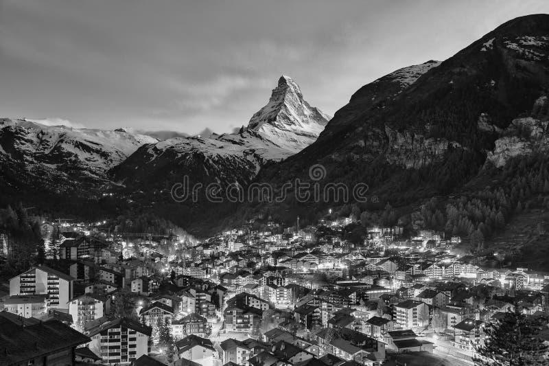 Berg Matterhorn lizenzfreie stockfotografie