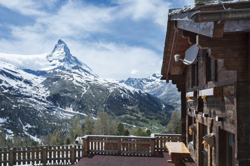 Berg Matterhorn royalty-vrije stock foto's