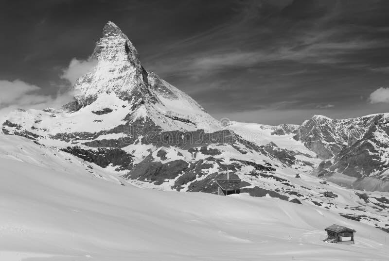 Berg Matterhorn stockfotos