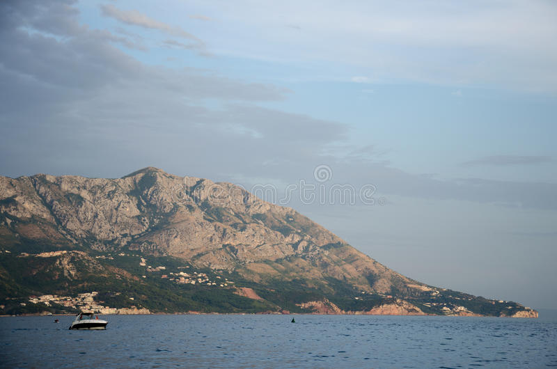 Berg in montenegro royalty-vrije stock afbeelding