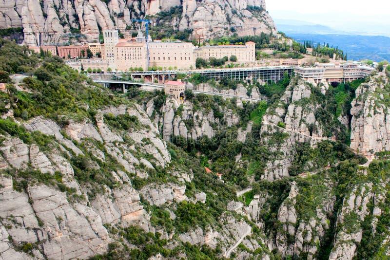 Berg Montserrat royalty-vrije stock afbeeldingen