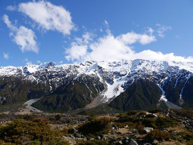 Berg in Mt koch lizenzfreie stockfotos