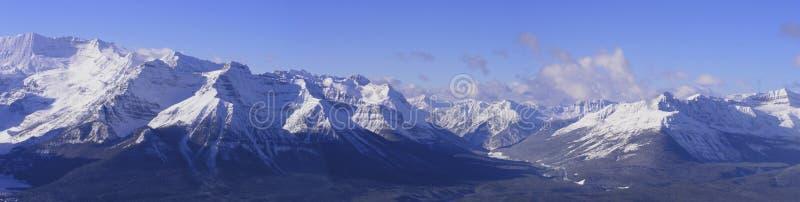 Berg panoramisch stockbilder