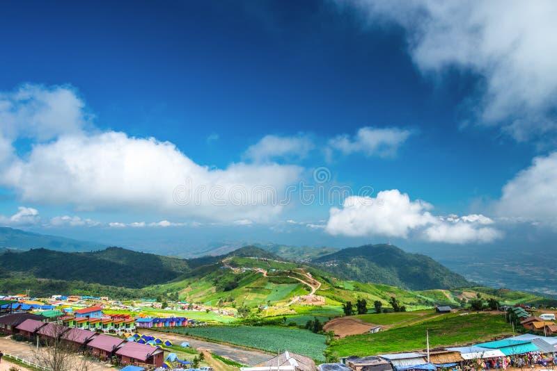 berg Phu Tab Berk Thailand royalty-vrije stock afbeeldingen