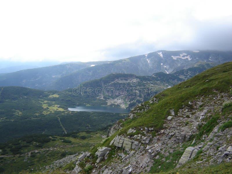 Berg-Rila royaltyfria bilder