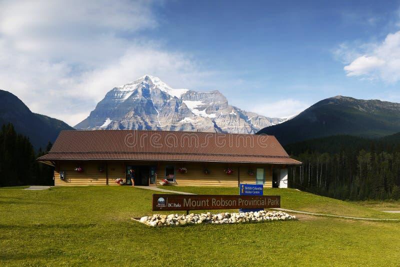 Berg Robson Park Canada stockfoto