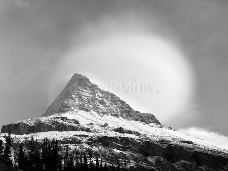 Berg Robson lizenzfreies stockbild