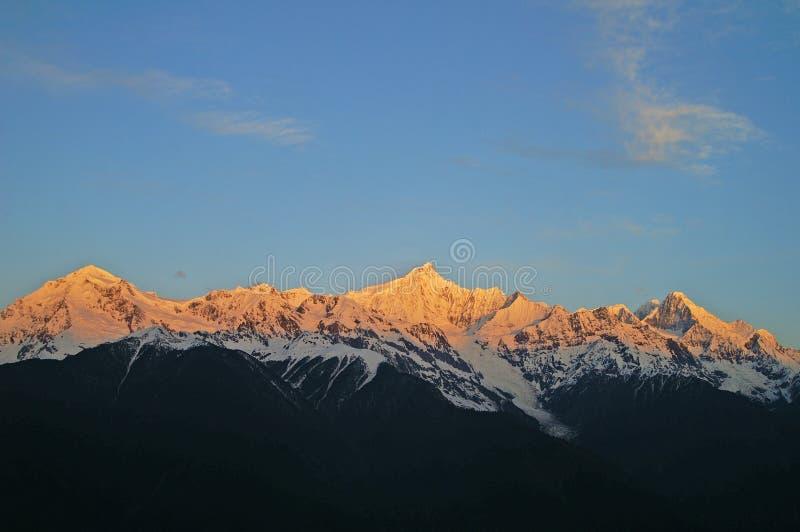berg s sakrala tibet royaltyfri fotografi