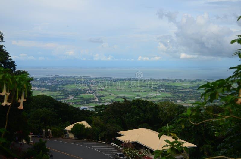 Berg Samat National Shrine Bataan Philippinen lizenzfreies stockbild