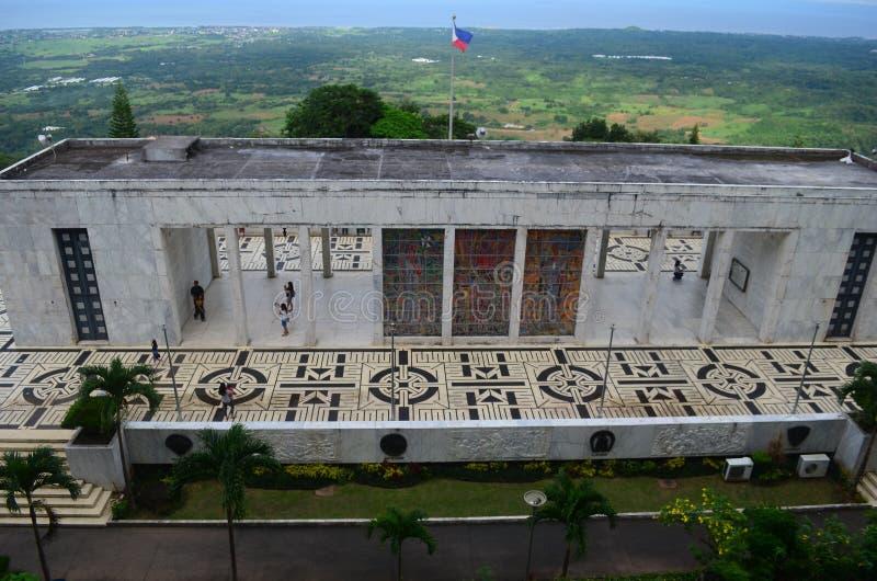 Berg Samat National Shrine Bataan Philippinen lizenzfreie stockbilder