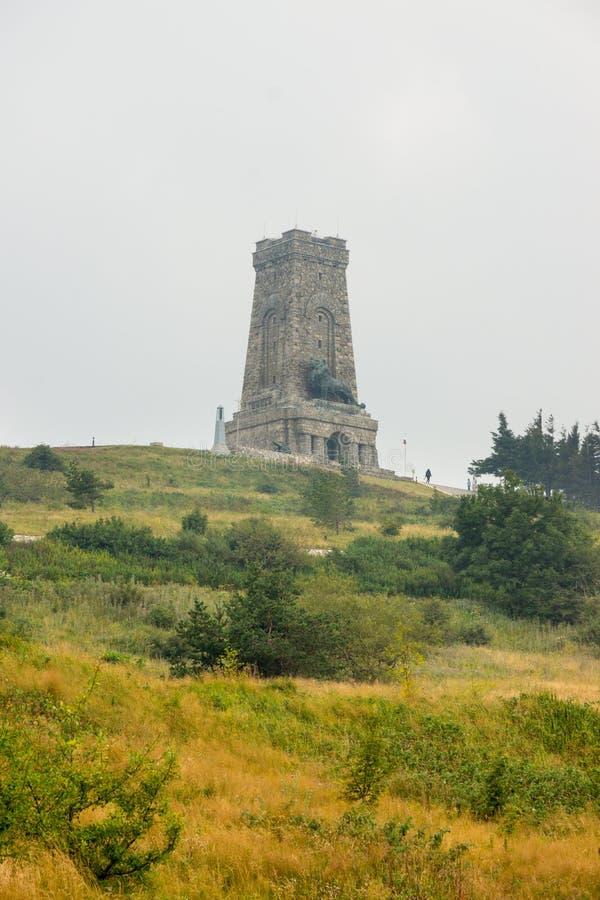 Berg Shipka in Bulgarien lizenzfreies stockbild