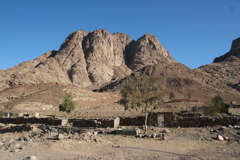 Berg Sinai royalty-vrije stock foto