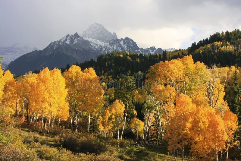Berg Sneffels-Strecke, Colorado lizenzfreie stockbilder