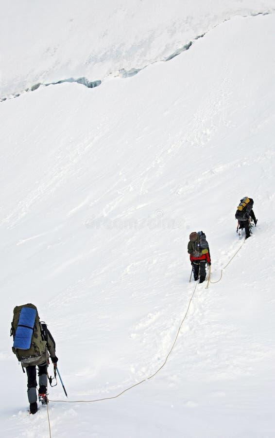 Berg Tetnuld arkivfoton