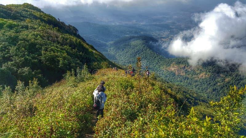 Berg in Thailand lizenzfreie stockbilder