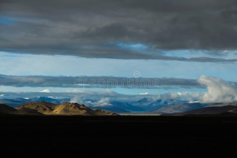Berg in Tibet stock fotografie
