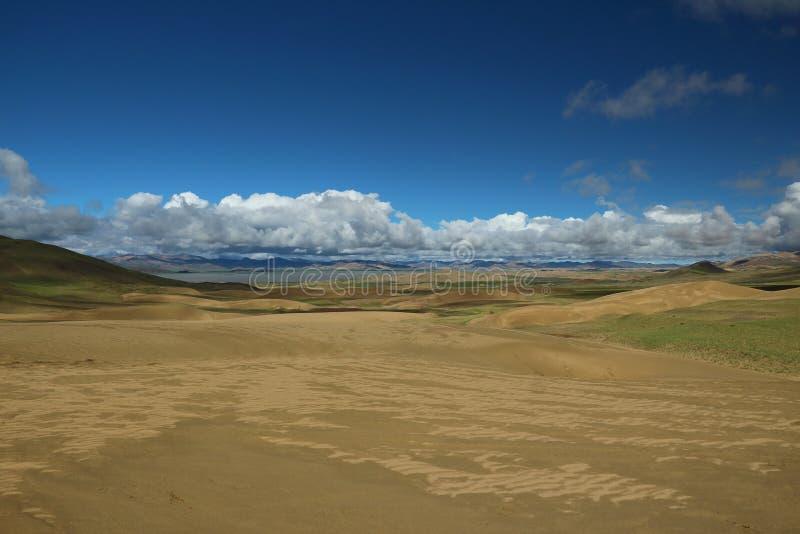 Berg in Tibet stock afbeelding