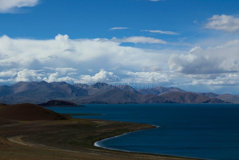 Berg in Tibet stock foto