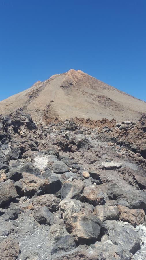Berg Tiede-Gipfel stockfoto