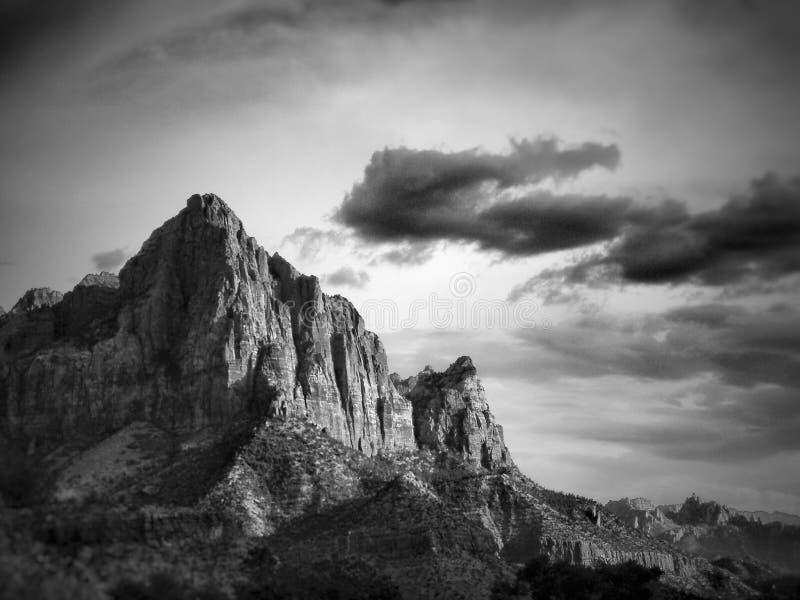 Berg in Utah stock foto's