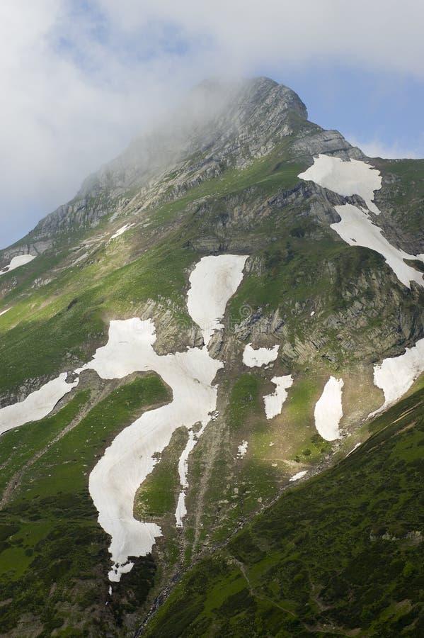 Berg van Sotchi royalty-vrije stock foto