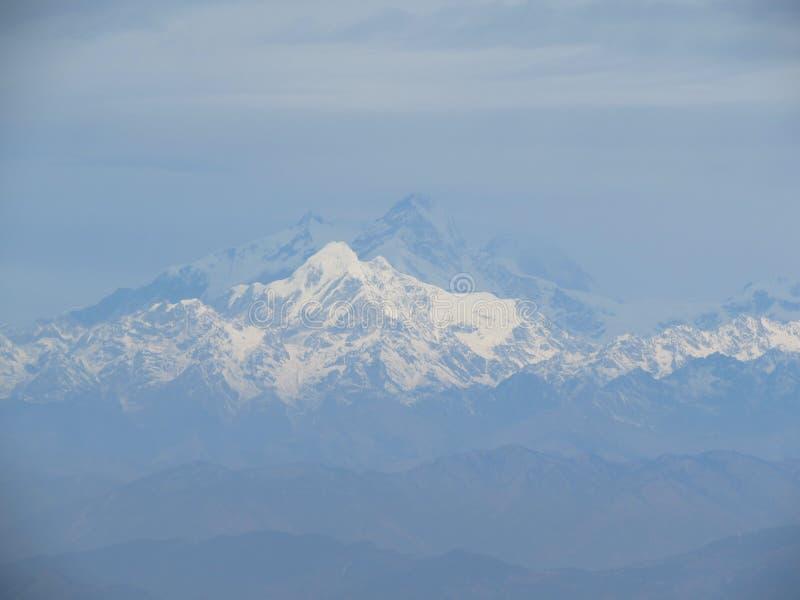 Berg von Nepal stockfotografie
