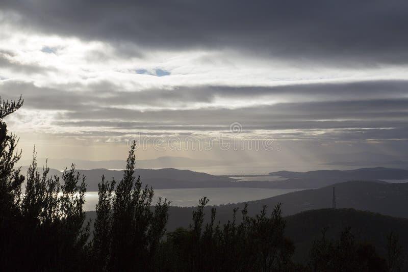 Berg Wellington - Tasmanien stockbilder