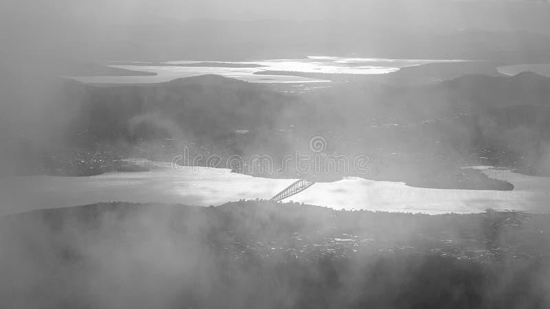 Berg Wellington - Tasmanien lizenzfreie stockbilder