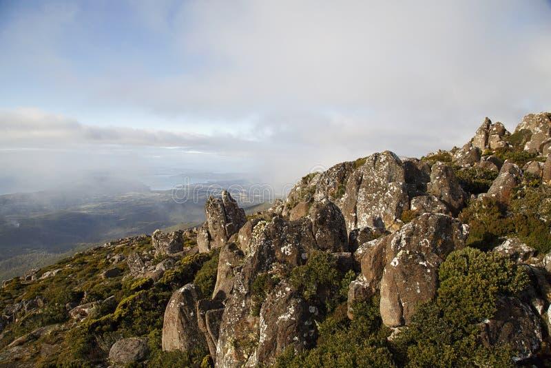 Berg Wellington - Tasmanien stockfoto