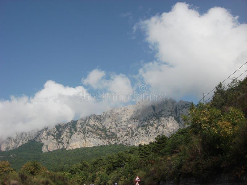 Berg in Yalta royalty-vrije stock fotografie