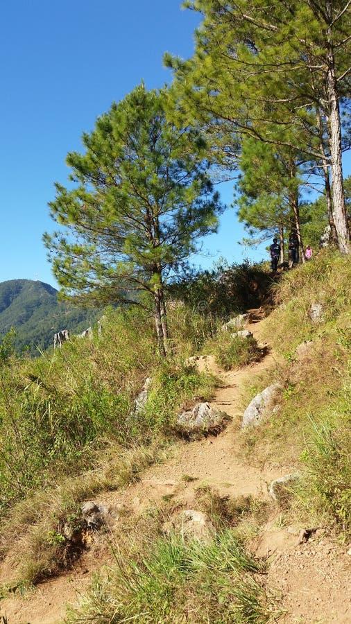Berg Zijsleep voor Wandeling stock fotografie