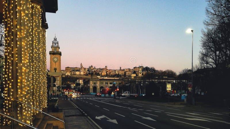 Bergamo fotografie stock