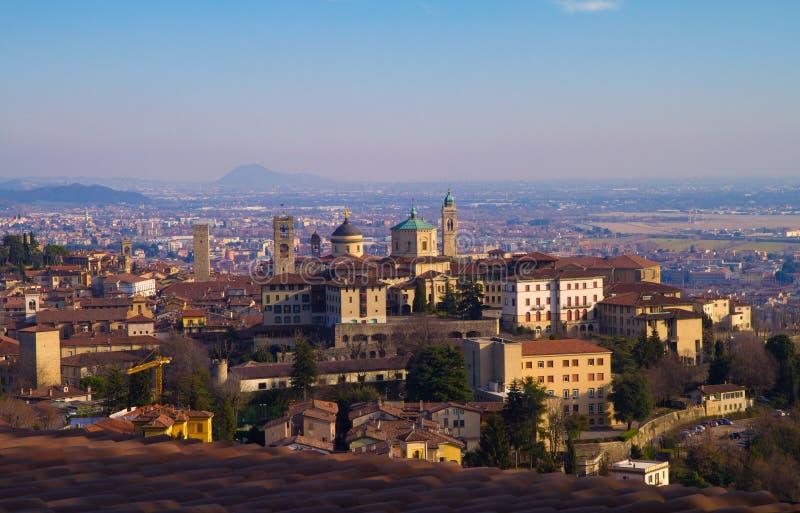 Bergamo. A view of bergamo landscape royalty free stock images