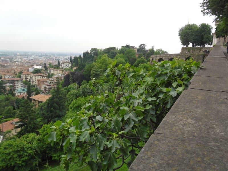 Bergamo fotografering för bildbyråer